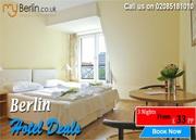 Cheap hotels in Berlin - 3N in 3* Berlin Hotels from £ 33 PP