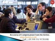 Check Flight Delay Compensation at FLY&I
