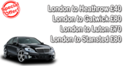 Best Chauffeur and Limousine Hire for Gatwick Airport Transfer in £80 UK ,  call us 02037708770